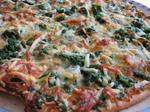 Spinat Pizza
