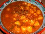 Gnocchi in rot